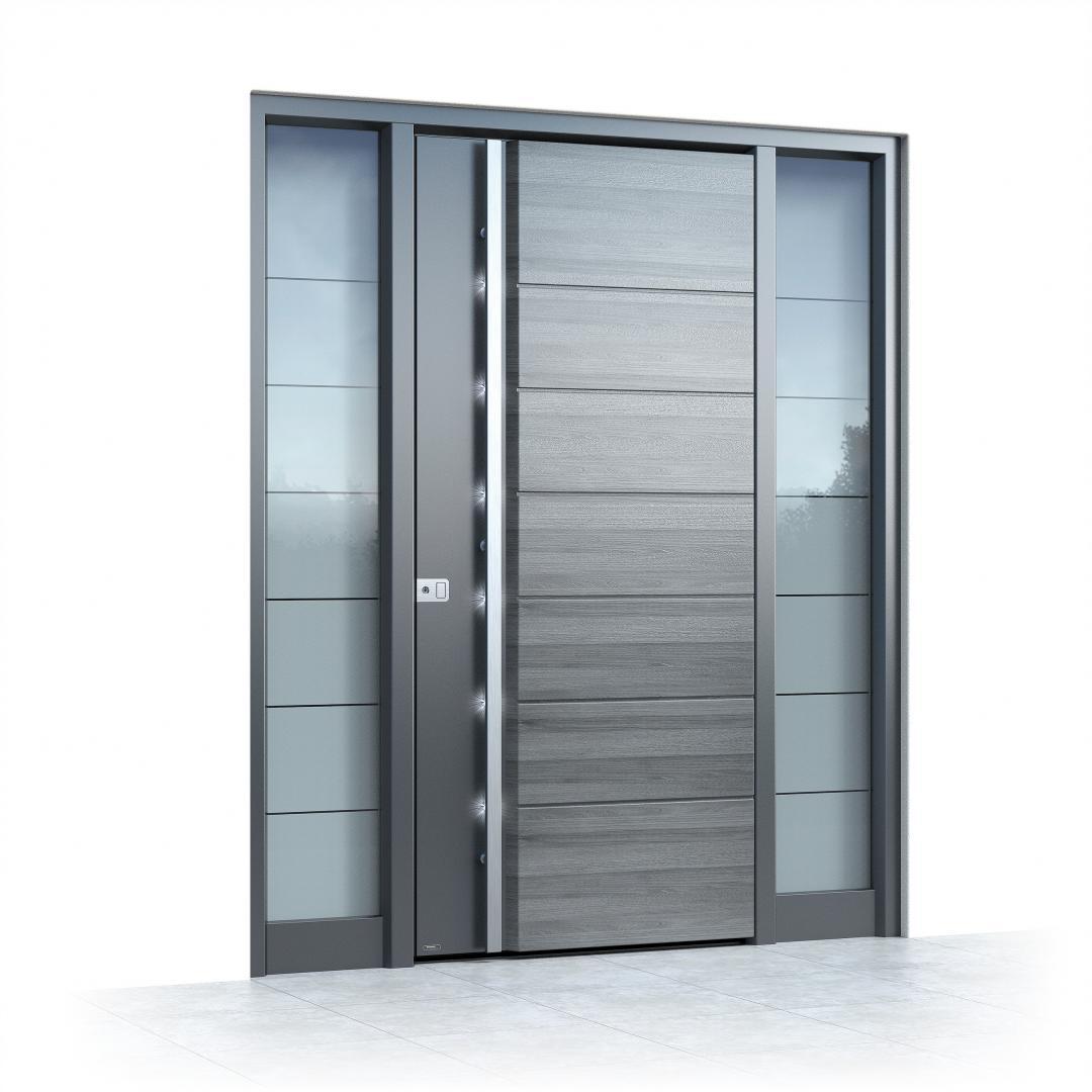 Ușă exterior Pirnar ULTIMUM MULTILEVEL 501